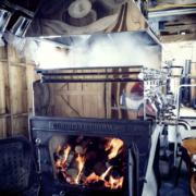 Loading Up the Evaporator With Wood