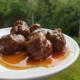 Maple Whisky Meatballs